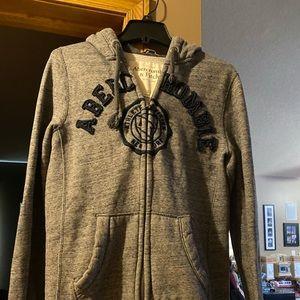 Men's Abercrombie and Fitch zip up sweatshirt